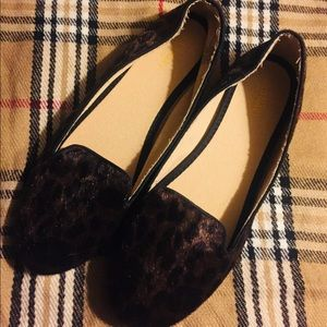 Old navy brand new loafers. Fuzzy cheetah!